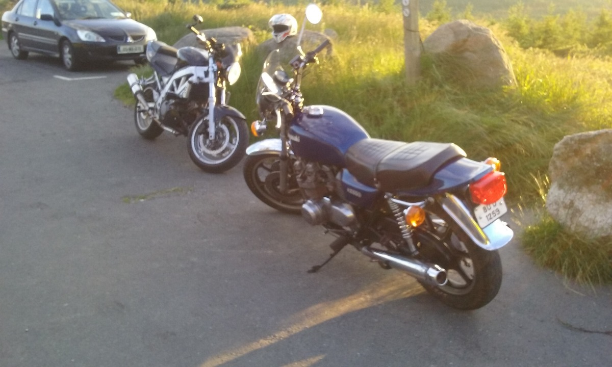1980 - Kawasaki KZ 650 (F1 model) - My 1st bike! - KZRider