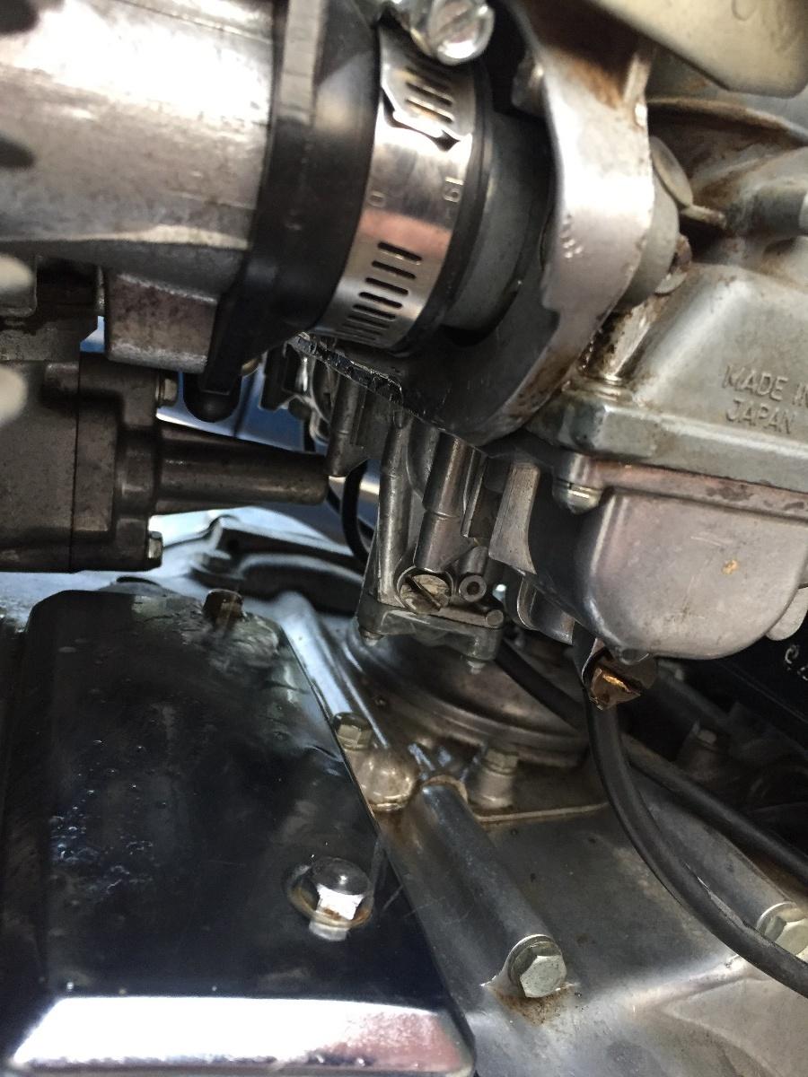 78 Kz650 leaking from carbs - KZRider Forum - KZRider, KZ
