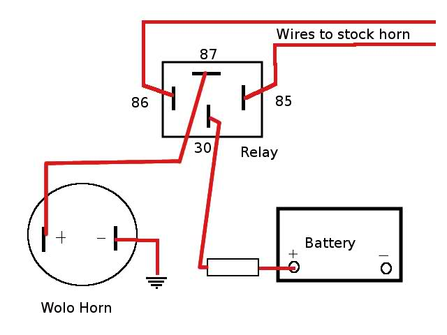 Push Button Horn Wiring Diagram from www.kzrider.com