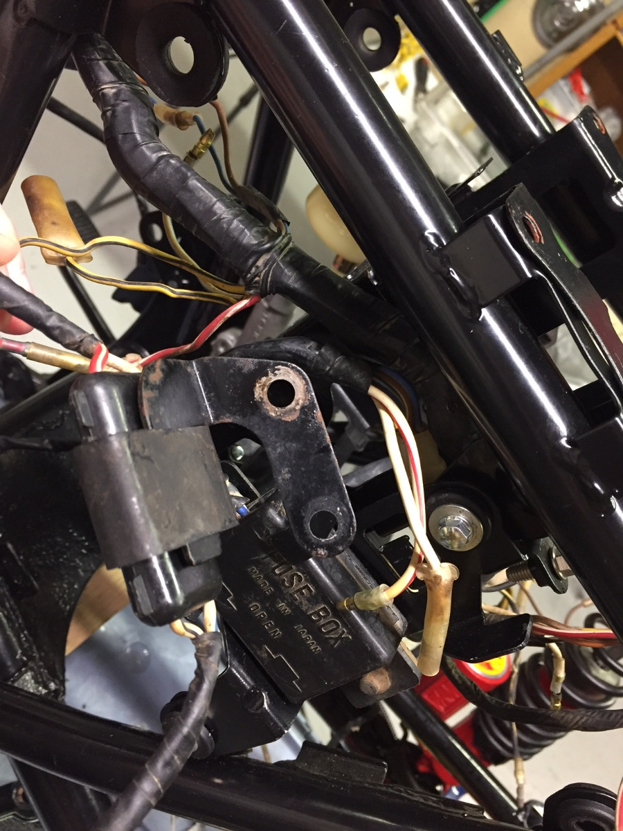 Struggling Mightily With My 81 GPz550 Wiring harness. Help ... on
