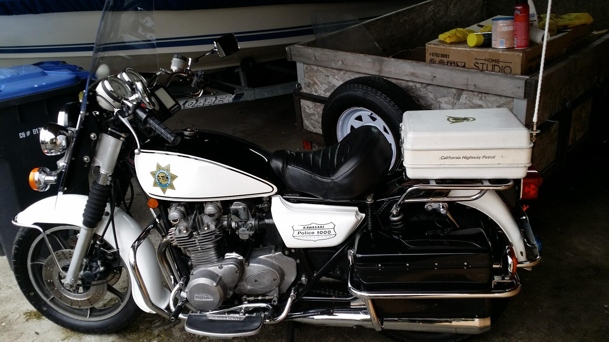 """1978 Kawasaki KZ1000 C1 Rear """""""