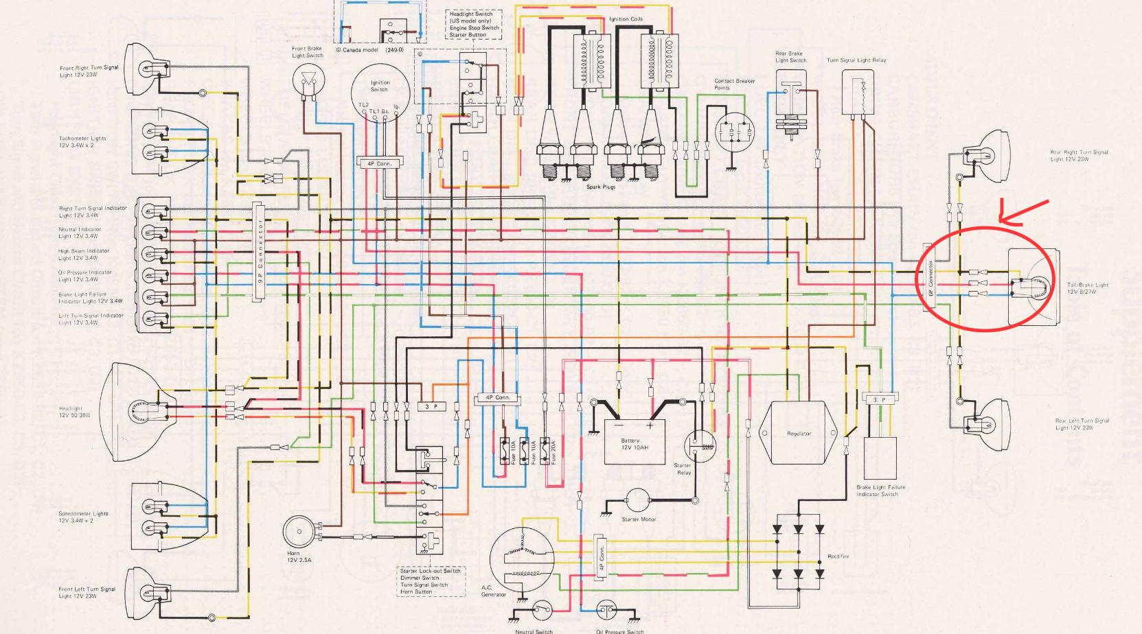 zx6e wiring diagram wiring issue kawasaki kz 650 pin connectors kzrider forum  kawasaki kz 650 pin connectors