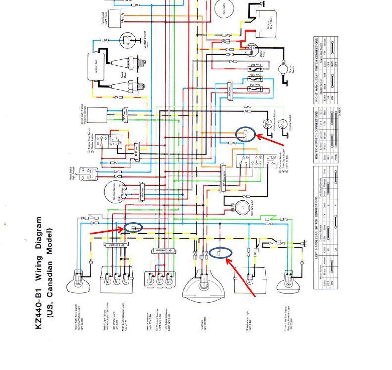 Undoing Vetter Fairing Wiring  80 Kz440b1 - Kzrider Forum
