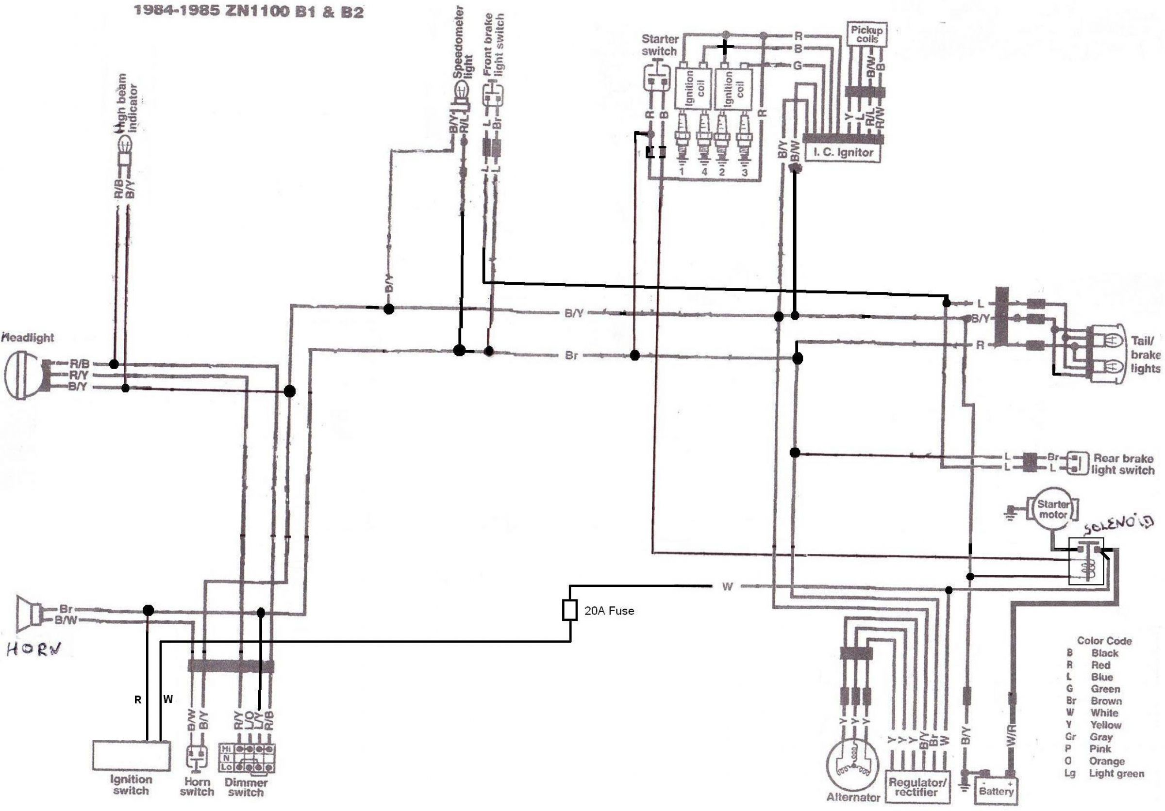 1980 750h bare bones for mattylight - kzrider forum