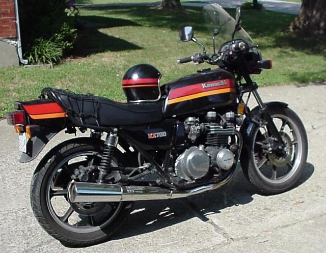 My 1984 KZ700 A-1