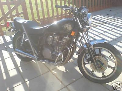 Black KZ750 Ltd