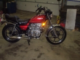 MY RESTORED 1980 KZ440LTD..