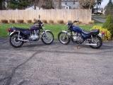 KZ 750 Twins