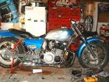z1 1975 dragbike newly built