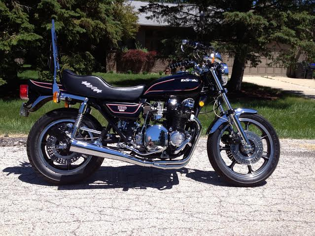 Bike Of The Month:1980  KZ1000 LTD owned by Pete Greek1.
