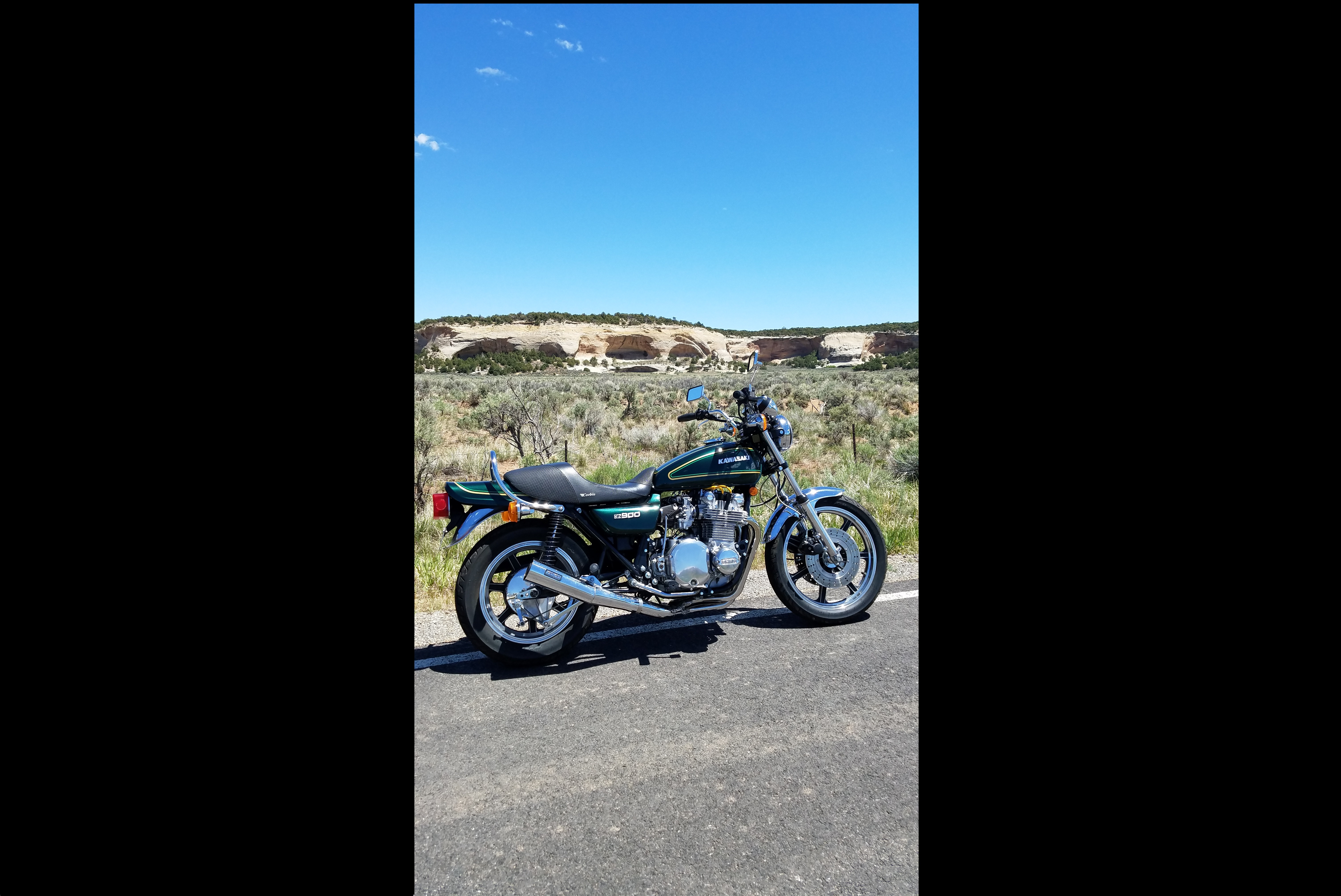 Bike Of The Month: Clyde Decrow's 1976 KZ900 A4