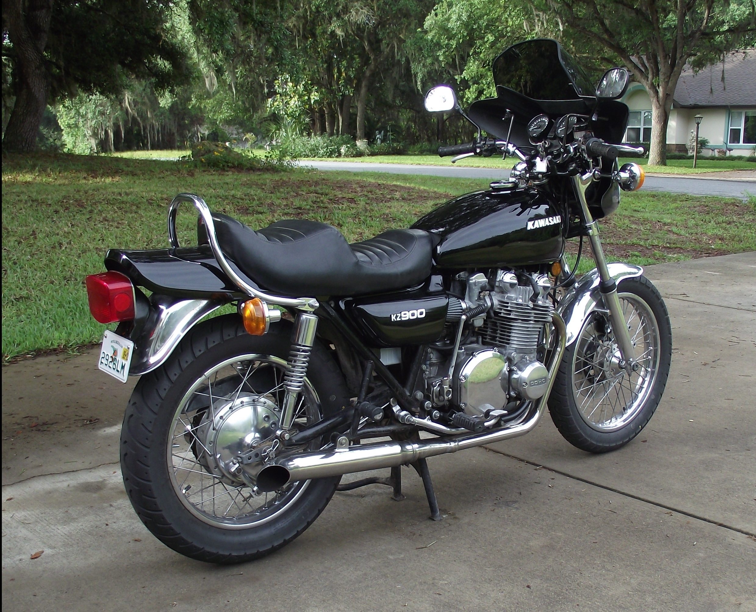 Bike Of The Month: Joe's (KZJOE900) 1976 KZ900-A4