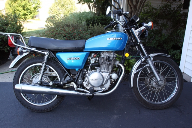 Bike Of The Month: KZ200