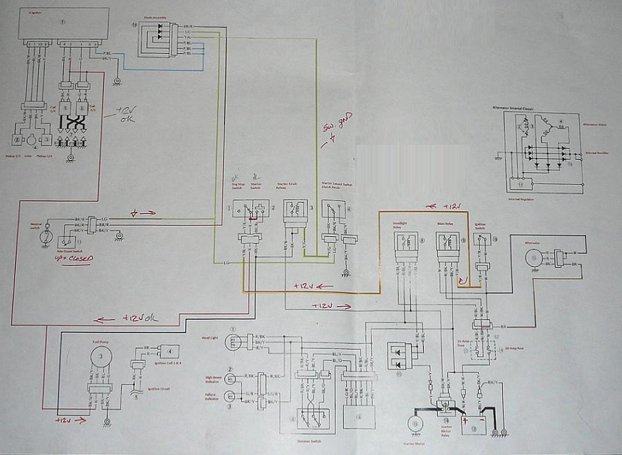 Voyager Wiring Diagram For Harness