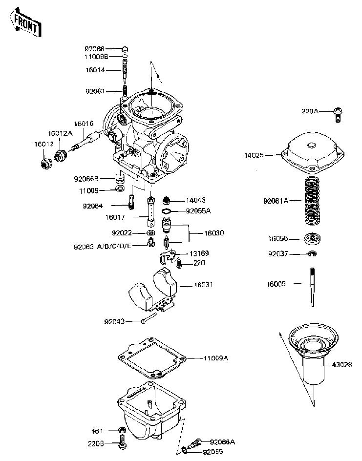polaris mikuni carburetor adjustment