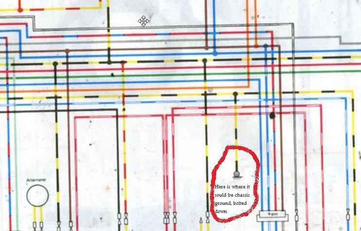 stumped wiring issue 82 kz750 csr kzrider forum kzrider kz this