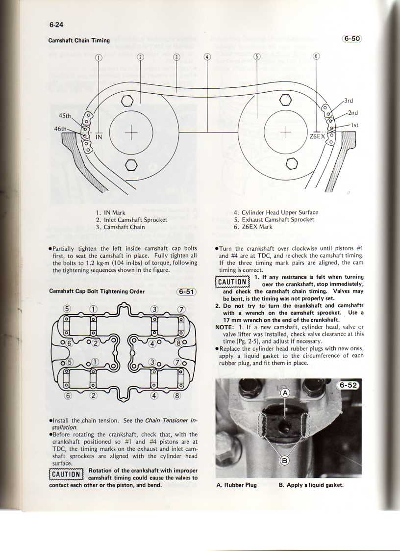 KZ650 F1 Camshaft Timing Questions