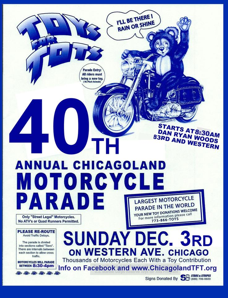 2017 Chicago Toys For Tots : Chicago toys for tots kzrider forum kz