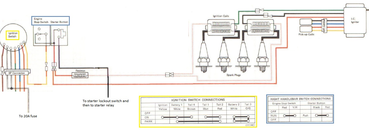KZ1000DIgnitionWiring diagrams 617399 kick start wiring diagram kawasaki kz750 twin kz750 wiring harn at n-0.co