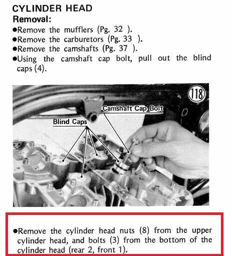 KZ 750 B Twin Cylinder Jug Stuck, Can Not Rmove