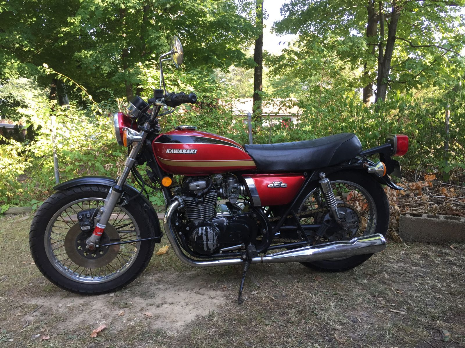 1974 kz400 cafe racer build - kzrider forum - kzrider, kz, z1 & z
