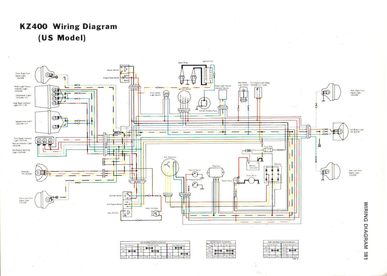 WRG-2077] Kz400 Wiring Diagram on