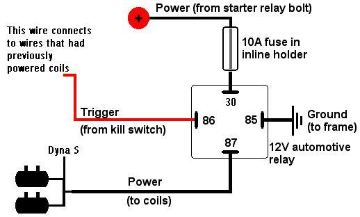 1980 kz1000    relay       wiring       mod     KZRider Forum  KZRider  KZ