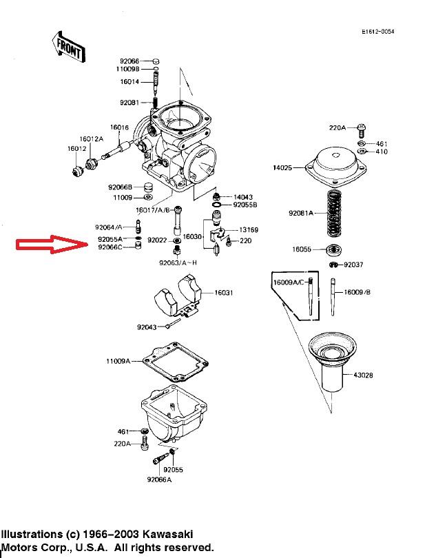 Spectrecarbplug on Honda Ct70 Carburetor Pilot Jet Diagram