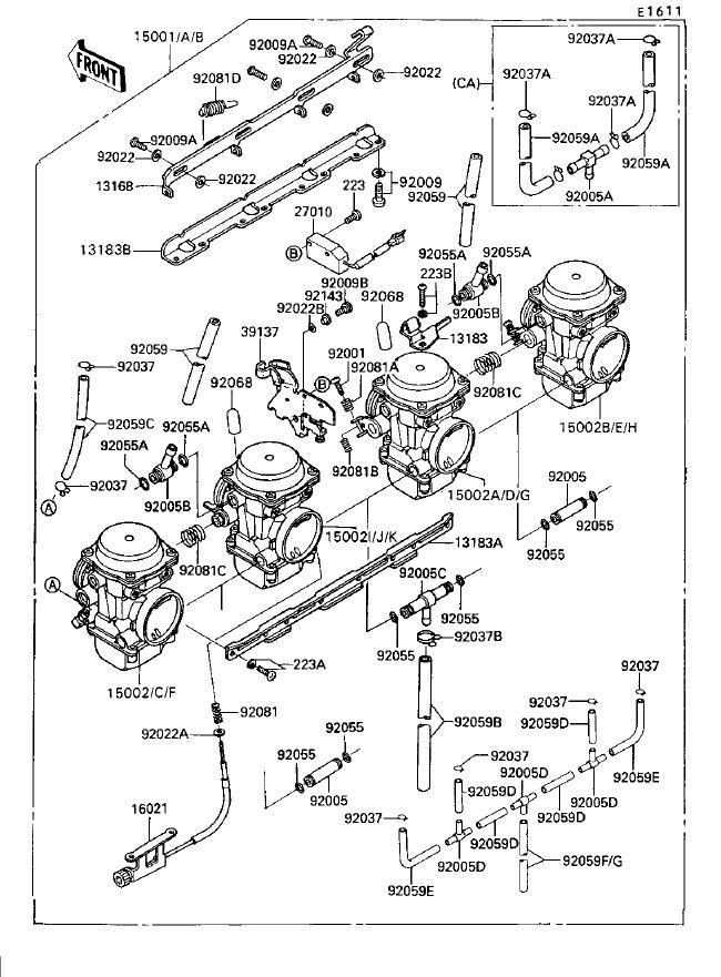 1992VoyagerXIIcarbembly Kawasaki Kz Wiring Diagram on