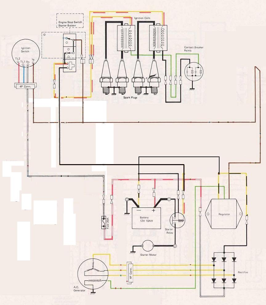 Kz650 Engine Diagram Electrical Wiring Diagrams Kawasaki Free Download Schematic 1979 Bare Bones Kzrider Forum Kz Z1 Z
